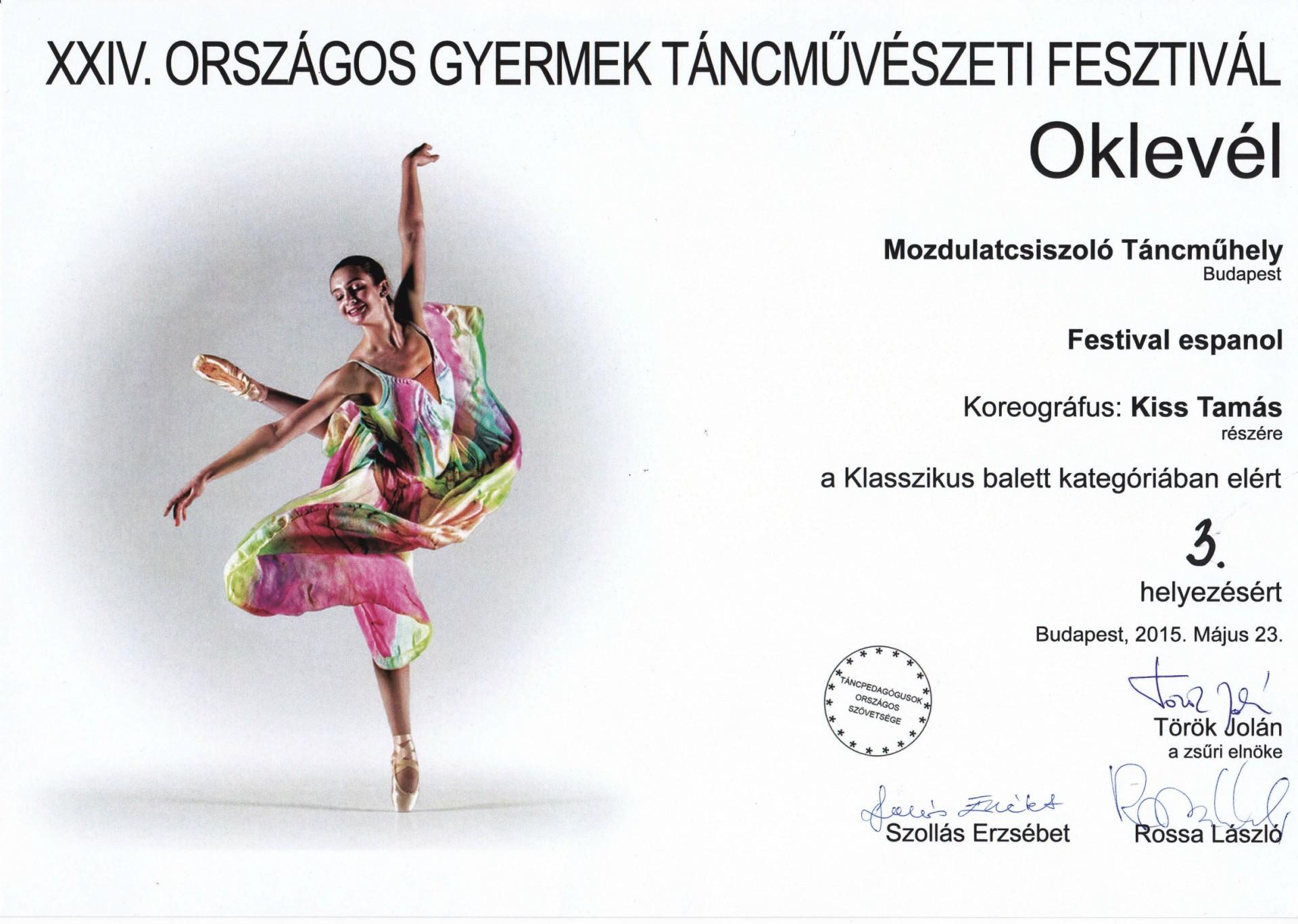 Carmen-szerelmek - Látomás és balett