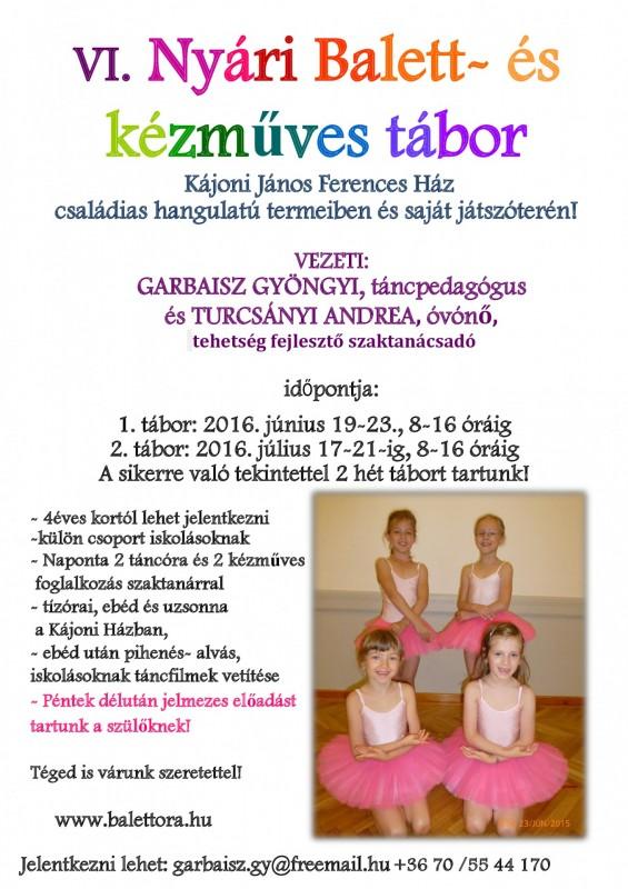 Kájoni Ferences Ház tánctábor